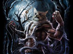 """Portal dos Mitos: Werecats, os """"Homens-Gatos"""""""