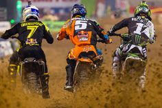 3 Supercross Champions - Stewart, Dungey, Villopoto