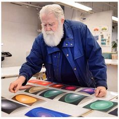 """The IFPDA on Instagram: """"James Turrell in the studio @paceprints. #ifpdaprintfair @galerie_maximillian_aspen @hirambutlergallery and @peterblumgallery. Closes today…"""" Abstract Sculpture, Bronze Sculpture, Wood Sculpture, Metal Sculptures, Light Installation, Art Installations, James Turrell, Hr Giger, Close Today"""