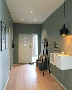 rustic home interior Living Room Designs, Living Room Decor, Bedroom Decor, Flur Design, Modern Interior, Interior Design, Hallway Designs, Hallway Ideas, Hallway Decorating