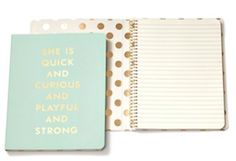 Love this mint journal
