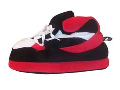 Happy Feet - Red, Black and White - Slippers - http://shoes.goshopinterest.com/mens/slippers-mens/happy-feet-red-black-and-white-slippers/
