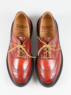 Tricker's for The Bureau Commando Cordovan Keswick