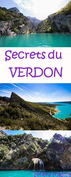 The Verdon or secret Provence! Discover the lake of Sainte Croix, the road of the ridges, and the most beautiful panoramas on the Verdon. Travel in one of the most beautiful places in France. Road Trip France, France Europe, South Of France, France Travel, Paris France, Aix En Provence, Provence France, Europe Travel Tips, Places To Travel