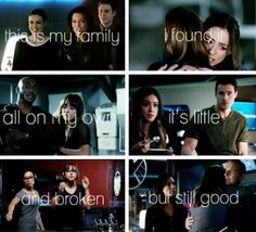 Agents of SHIELD/ Lilo and Stich crossover aww :)