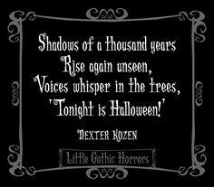 Little Gothic Horrors: Happy Halloween 2013!
