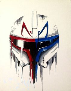 Captain Fordo and Rex Star Wars Helmet, Star Wars Clone Wars, Star Wars Art, Star Wars Karikatur, Star Wars Commando, Star Wars Cartoon, Warframe Art, Black Spiderman, Totenkopf Tattoos