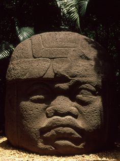 The La Venta, Olmec Ruin Site Museum in Villahermosa, Mexico offers Olmec heads and other Olmec sculptures taken from the ruin site of La Venta, a flourishing Olmec settlement and ritual center from 900 BC to 400BC.
