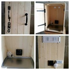 Biltong box custom made to your spec