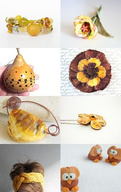 Yellow Fall by UnlimitedCraftworks on Etsy--Pinned with TreasuryPin.com