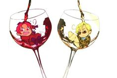 Hetalia - 2p Italy and Romano : Vino Italiano