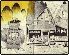 iDraw, sketching around - the sketchbook of Fabio Consoli