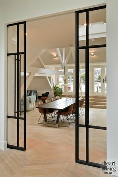 By Thimble Interieurstudio Cute Apartment Decor, Flur Design, Interior Design Living Room, Home And Living, Interior And Exterior, New Homes, House Design, House Styles, Thimble