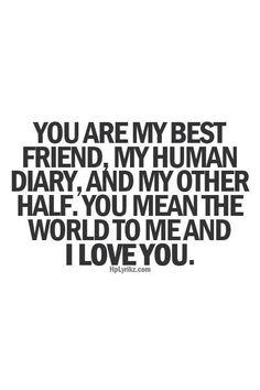 My boyfriend is my best friend ❤️