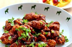 Thai fried chicken in sweet and sour sauce
