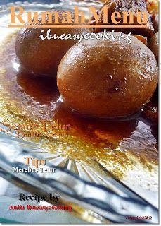 Semur Telur Bumbu Kemiri – Resep Masakan Nusantara