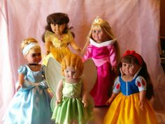 """Princesses for 18"""" doll"""