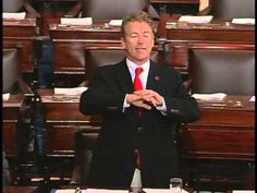 Sen. Rand Paul Speaks Out Against the PATRIOT Act - May 31, 2015 - The NSA is not collecting the information of terrorists. The NSA is collecting all Americans citizens' records, all of the time. This is what we fought the revolution over. Are we going to so blithely give up our freedom? Are we going to so blithely go along and just say take it? Well, I'm not going to take it anymore and I intend on protecting the Constitution.