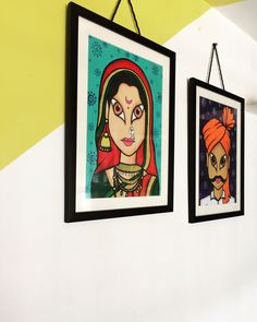 Indian Artwork, States Of India, India Culture, Friends Tv Show, Pulp Fiction, Traditional Outfits, Gallery Wall, Frame, Painting