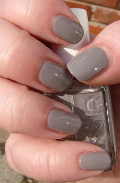 Essie Chinchilly- bought this today!! Can't wait to try it out!