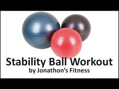 10 Minute Stability Ball Workout