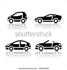 Set of transport icons - Vehicles by Ecelop, via Shutterstock