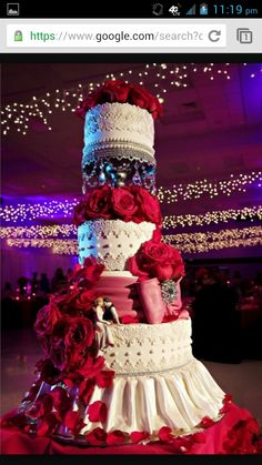 This wedding cake...omg, its beautiful!