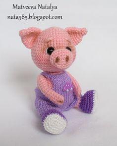 Amigurumi pig. (Inspiration).