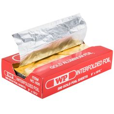 "For the fastest, most efficient service possible, put down the roll foil and turn to these 9"" x 10 3/4"" food service aluminum foil sheets! The high-quality, interfolded pre-cut sheets are perfect for use when wrapping hamburgers, hot dogs, sandwiches, baked potatoes, and so much more. With one gold side and one silver side, these sheets give you the versatility you need for instantly identifying multiple menu items. Use them at your concession stand, fast food restaurant, or sn..."