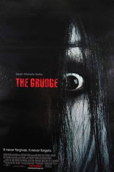 The Grudge. This movie has to be my all time favorite horror flick. Scared me to the point I couldn't sleep for 2 days. Japanese horror flicks are the best..and this remake wasn't too bad!