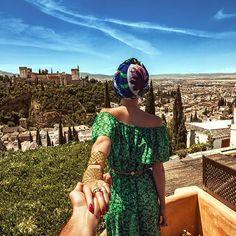 Follow me to Alhambra in Granada