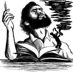 #Recordando a Cortázar con el que es en mi opinión, su mejor cuento: El Perseguidor.