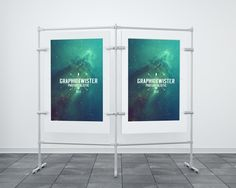 Free Double Stand Banner (50,9 MB) | Graphic Twister