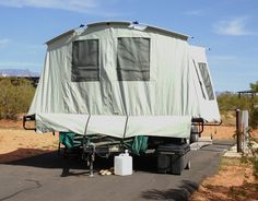 Jumping Jack Tent Trailer in the wild from Starling Travel & Jumping Jack Pop Up Tent Trailer | Camping | Pinterest | Tent ...