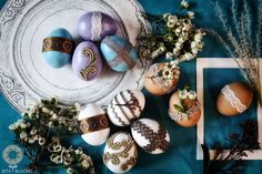 More Sofreh Aghd Egg Designs - Bits and Blooms Inc.