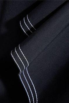 Chloé - Two-tone Cotton-twill Midi Skirt - Navy - FR42