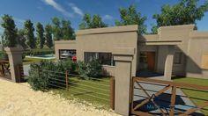 """Planos de Casas - Proyecto de Arquitectura """"Pampa Serena"""""""