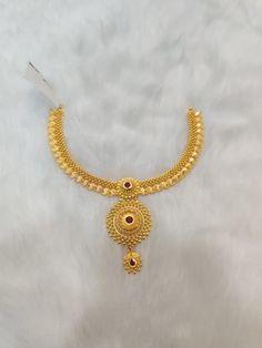 Gold Bangles Design, Gold Earrings Designs, Gold Jewellery Design, Necklace Designs, Gold Wedding Jewelry, Gold Jewelry Simple, Bridal Jewelry, Necklace Set, Gold Necklace
