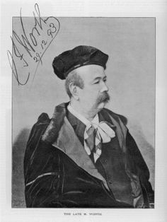 ℛ.Charles Frederick Worth (13 October 1825 – 10 March 1895), widely considered the Father of Haute couture, was an English fashion designer of the 19th century, whose works were produced in Paris.