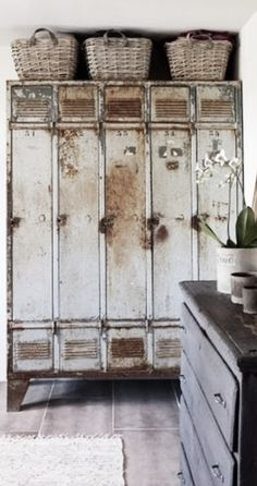 Need to find some old lockers for the mudroom