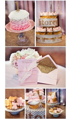 Pink and gold fairy tale party  50 Sweet Girls Party Ideas! | I Heart Nap Time - How to Crafts, Tutorials, DIY, Homemaker