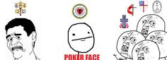 Lutheran poker face.. how I feel in society. #Lutheran #Humor