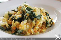 Linsen-Mangold-Curry, ein sehr leckeres Rezept aus der Kategorie Gemüse. Bewertungen: 142. Durchschnitt: Ø 4,5.