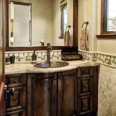 Mediterranean Bath Photos Bathroom Vanities Design, Pictures, Remodel, Decor and Ideas - page 3