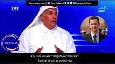 Pengakuan Eks Menlu Qatar tentang Perang atas Suriah