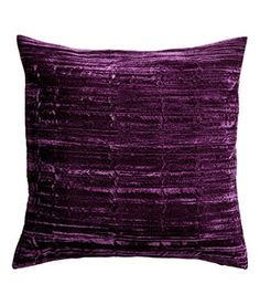 """French Vintage, Old Fashion Striped Velvet Linen Throw Pillow Cover Cushion Cover 20 x 20"""" Purple Natural Cushion Cover http://www.amazon.com/dp/B00ULSWWSO/ref=cm_sw_r_pi_dp_Iagfvb1TKXQ6G"""