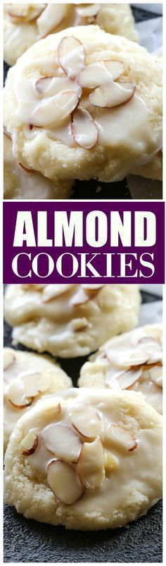 Almond Cookies - a f
