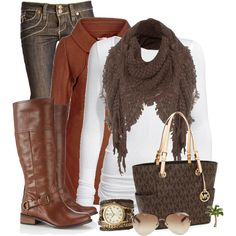 warm & stylish Winter outfit