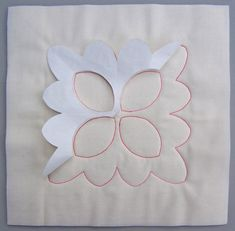 Easy walking foot quilting with freezer paper