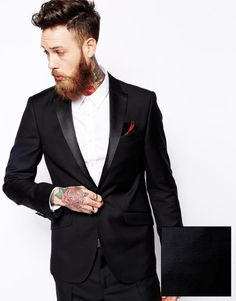 wool black suit - Google Search